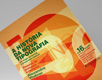 Tipografia na UFRJ | Posters