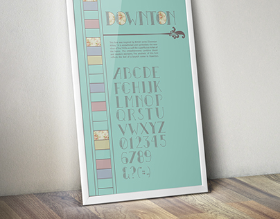 Downton Typeface