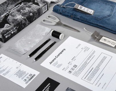 Visual Identity for Jeans Company