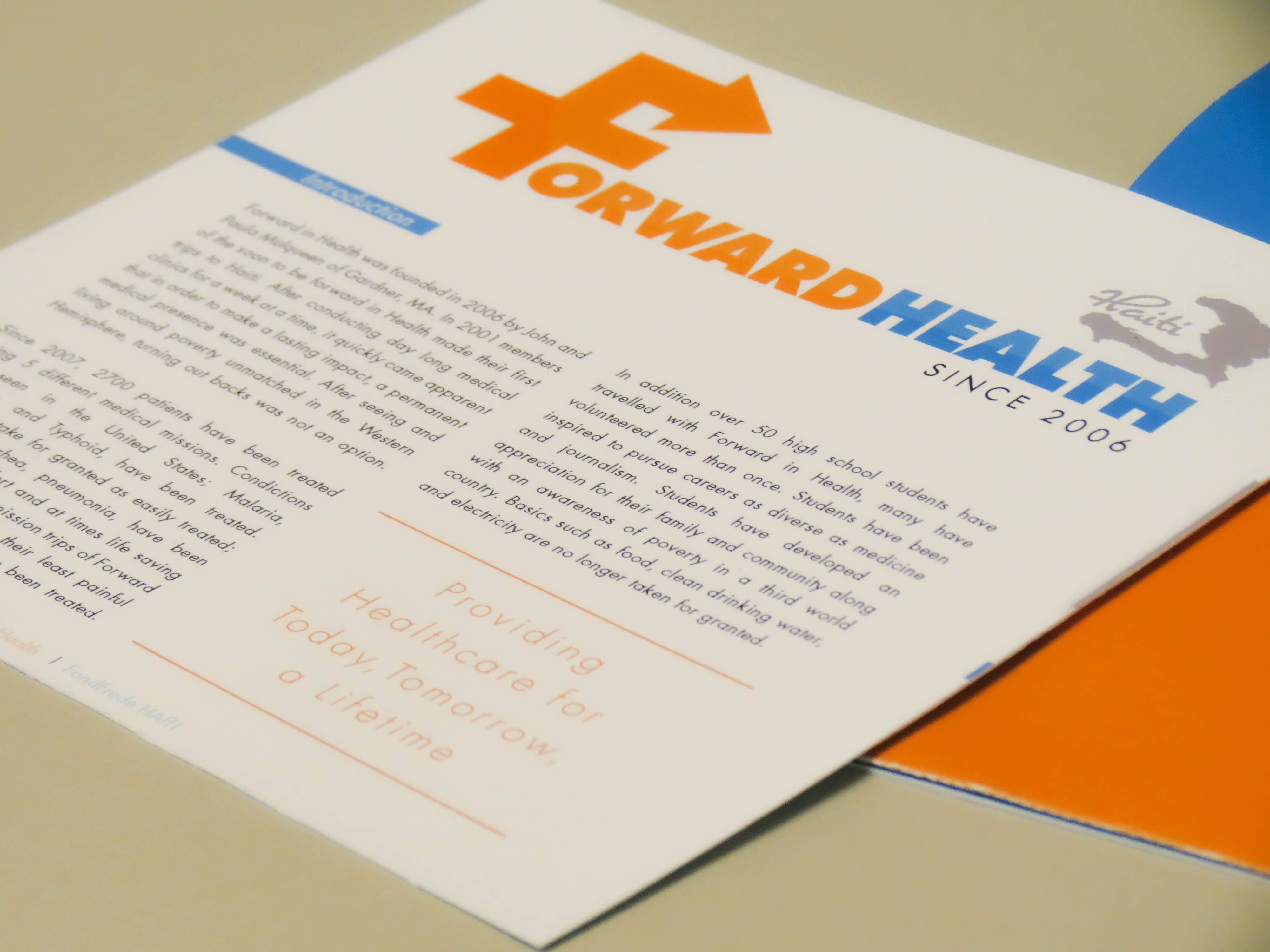 Forward Health Information Packet