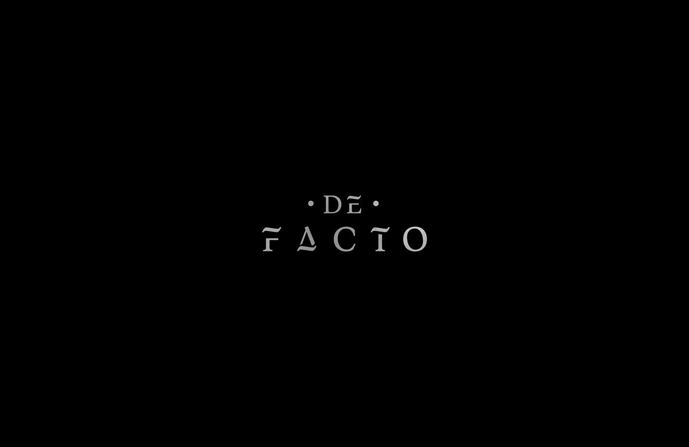 ● DE FACTO ● Branding