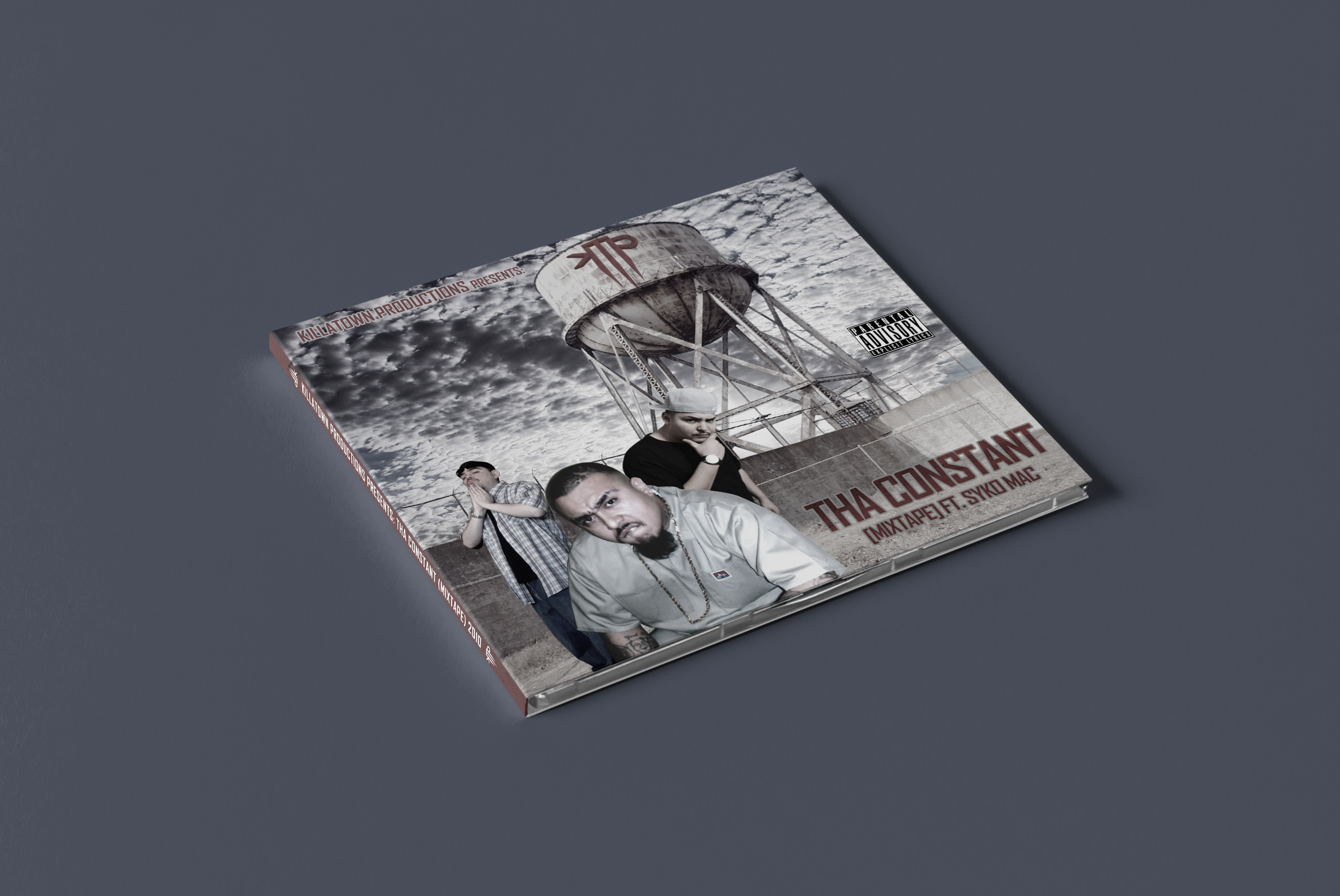 KillaTown Productions | CD Layout & Packaging