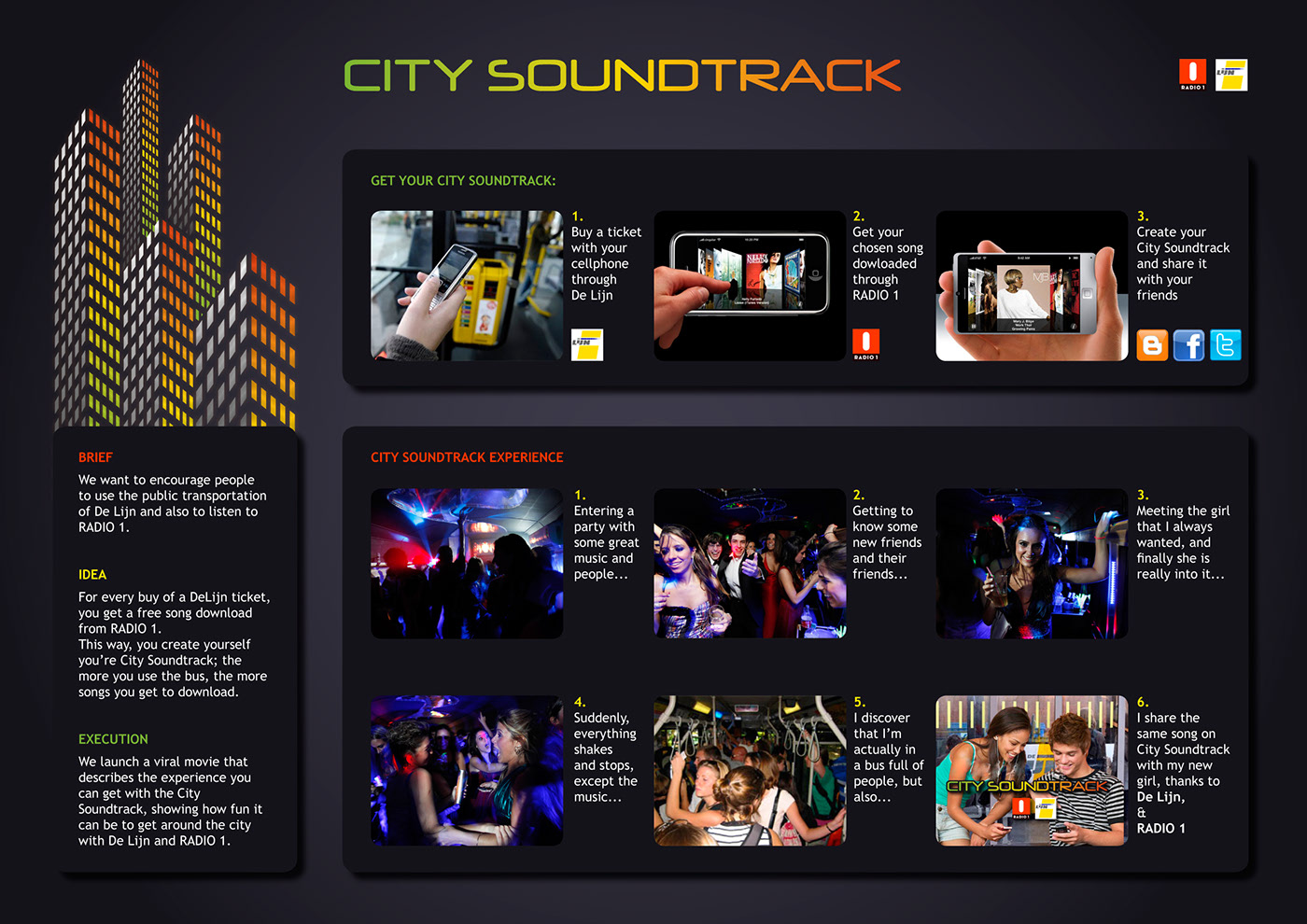 City Soundtrack -  board