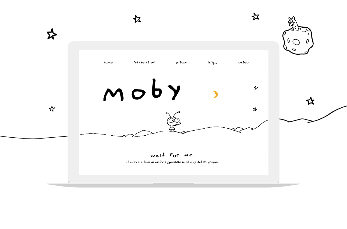 Moby album website