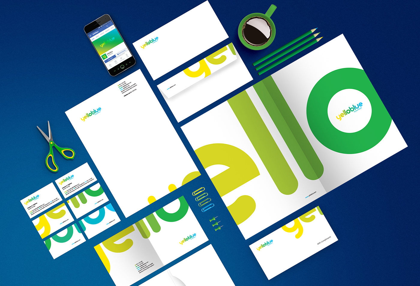 Yelloblue - Corporate identity