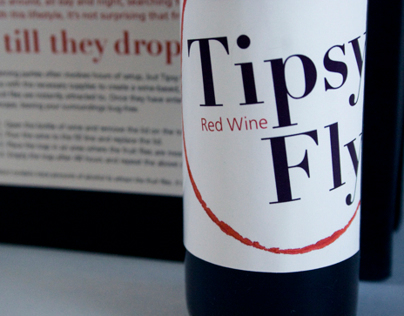 Tipsy Fly Package Design