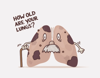 character design - how old are your lungs?