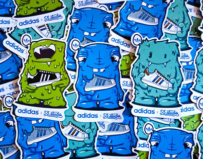SNEAKER MONSTER ( adidas original )