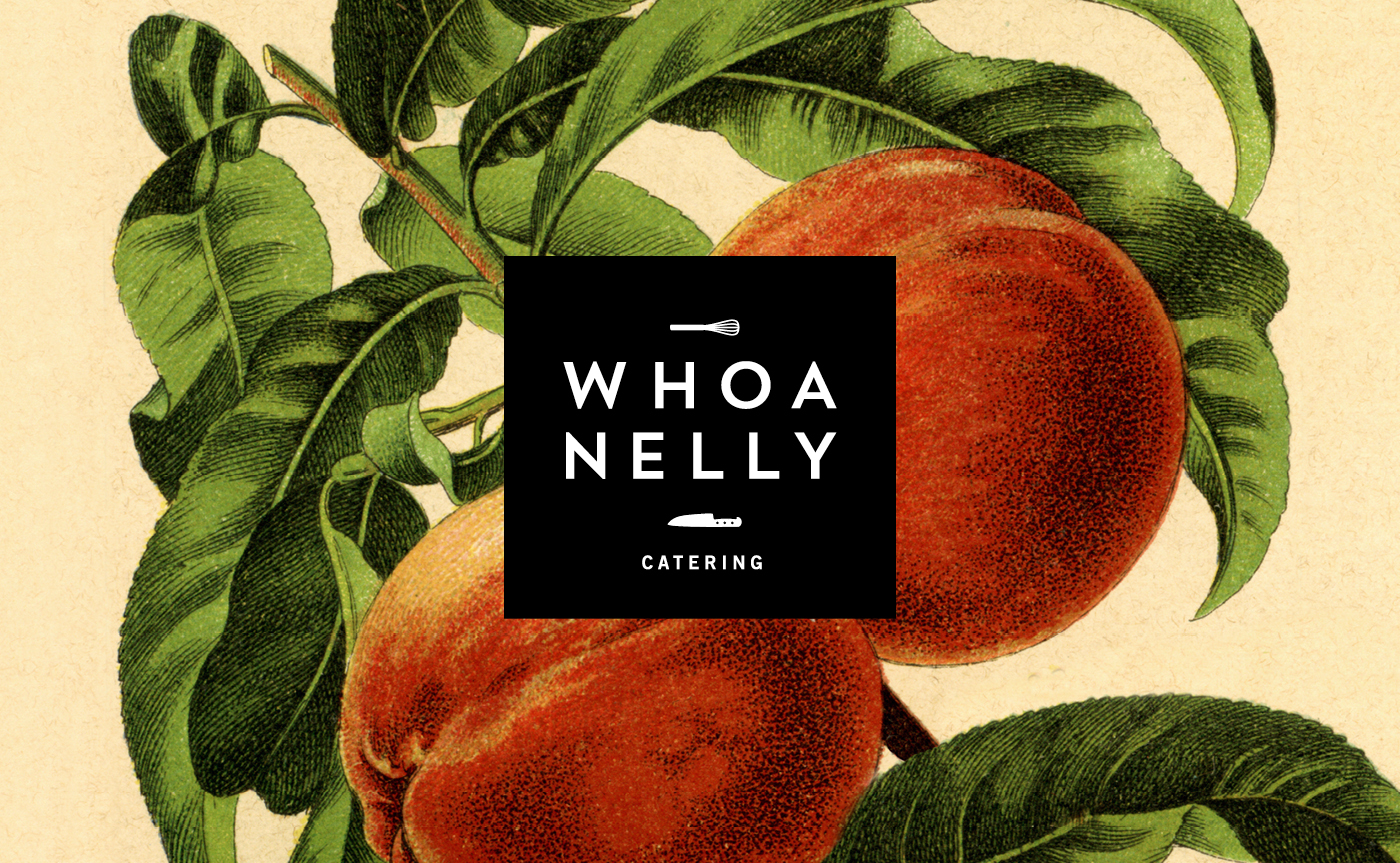 Whoa Nelly Catering Branding & Website
