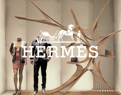 Hermes China Window Display design(proposal)