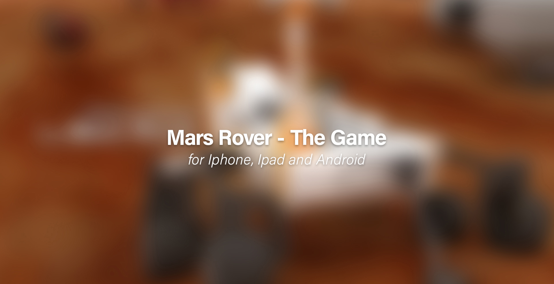 Mars Rover The Game