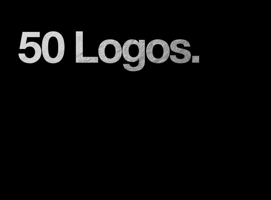 2 Years / 50 Logos