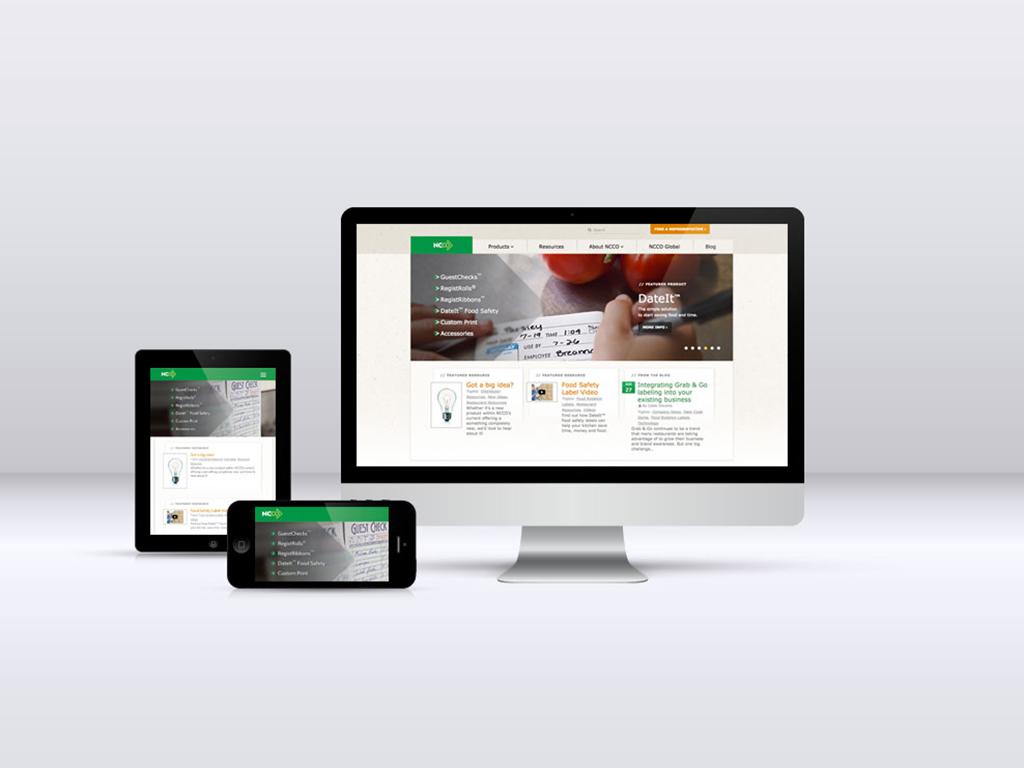 NCCO Website Design - US