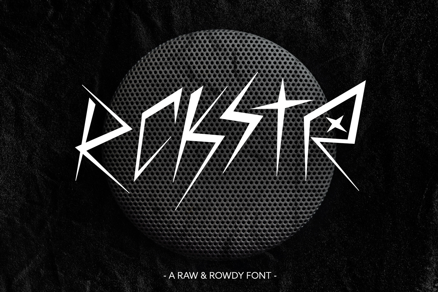 We Are Rockstar - FREE FONT DOWNLOAD