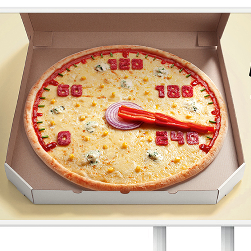 Pizza 33. Speedometer