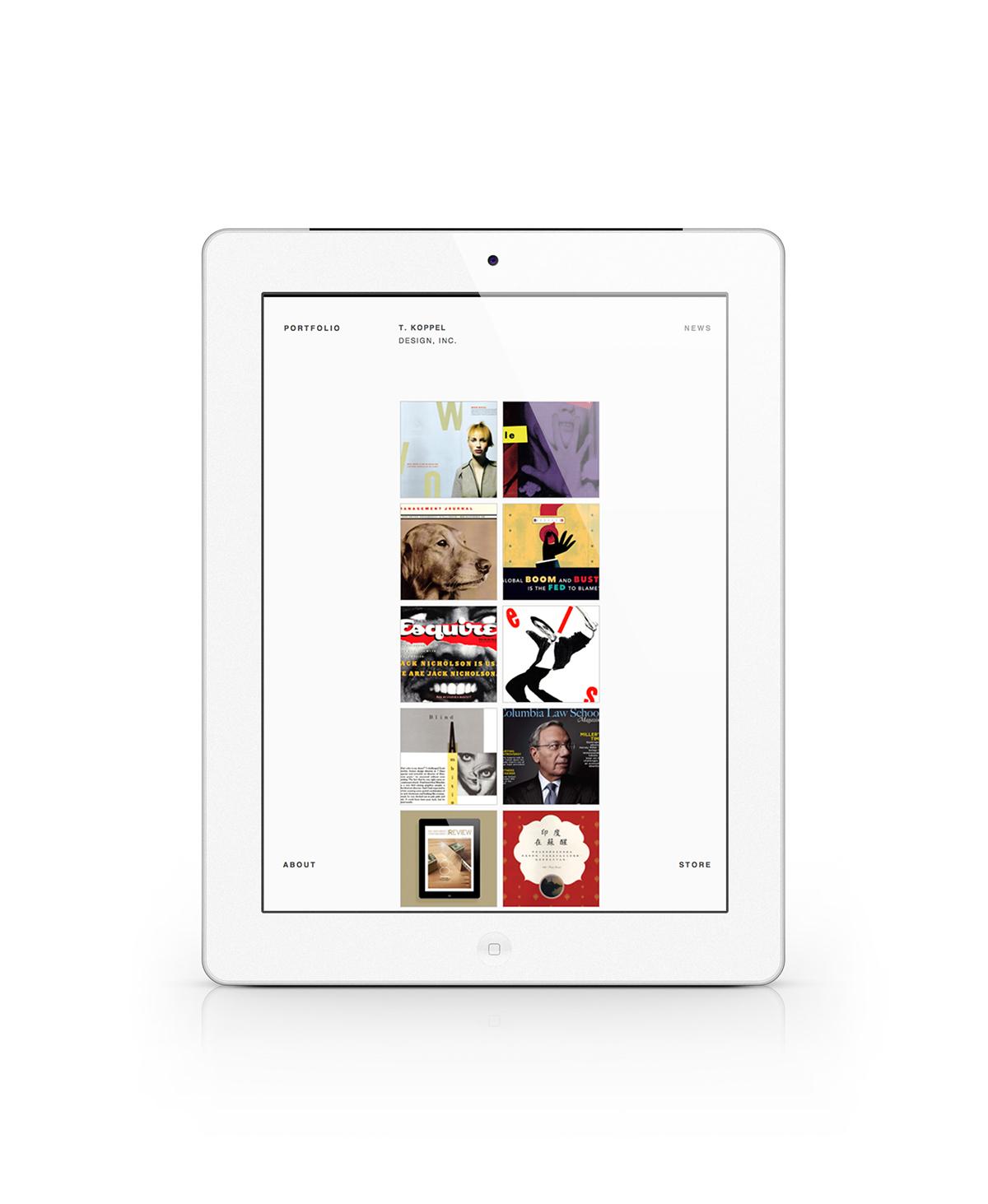 T. Kopple Design Website