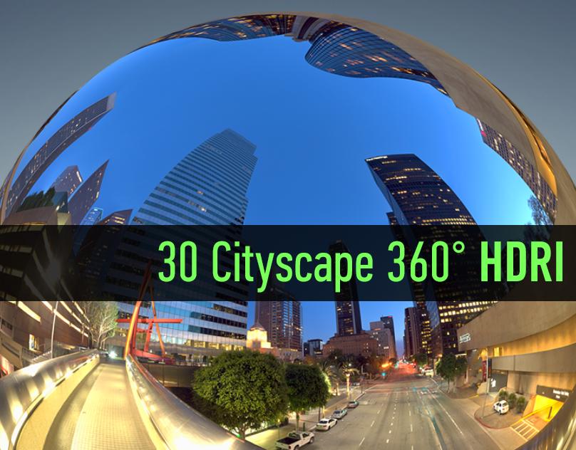 Cityscape HDRI Panoramic Collection vol.001