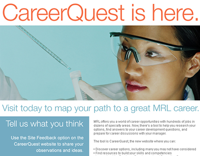 Merck Research Laboratories Career Quest Intranets