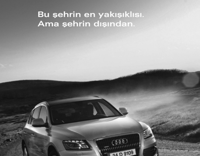 Print Advertising for AUDI - Internship Work