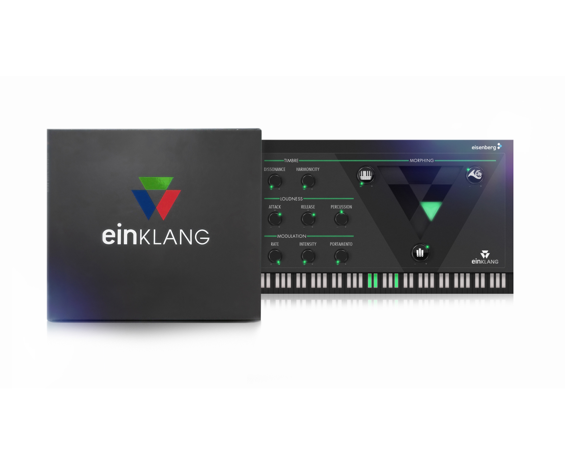 Einklang - Synthesizer Identity & Product Design