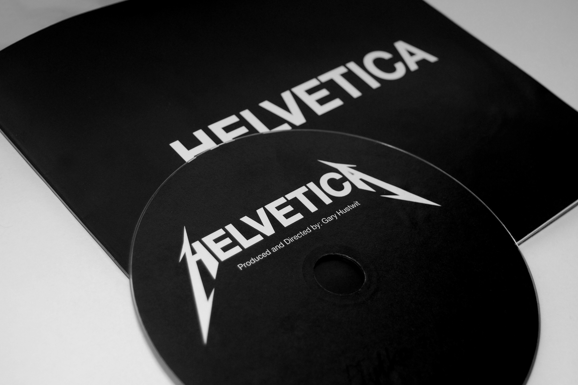 Promotion of the Helvetica typeface
