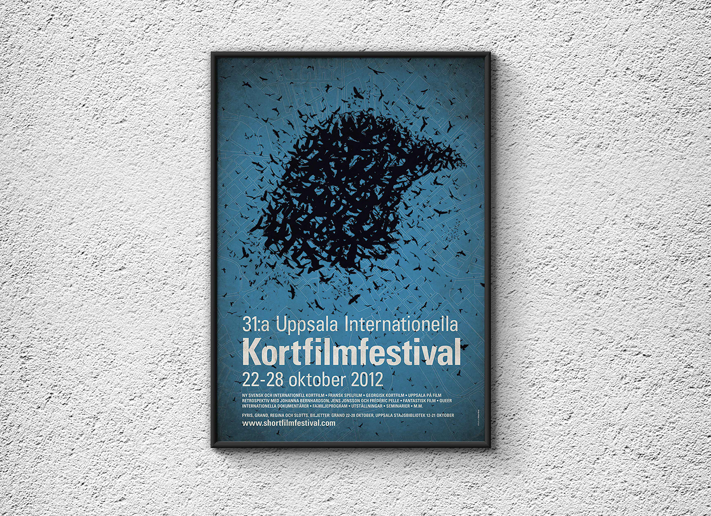 Poster for Uppsala International Short Film Festival