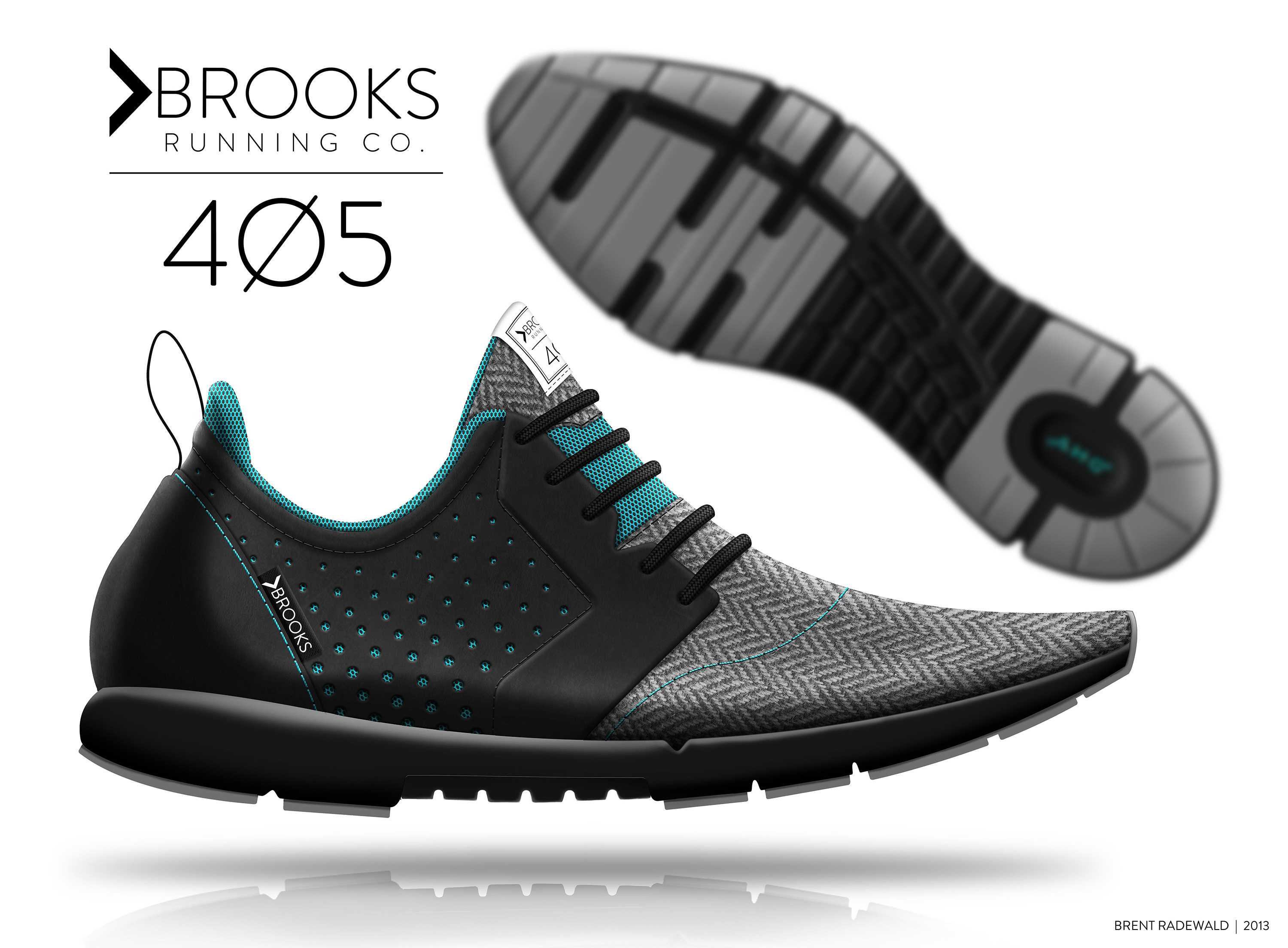 Brooks 405 | Shoe Concept