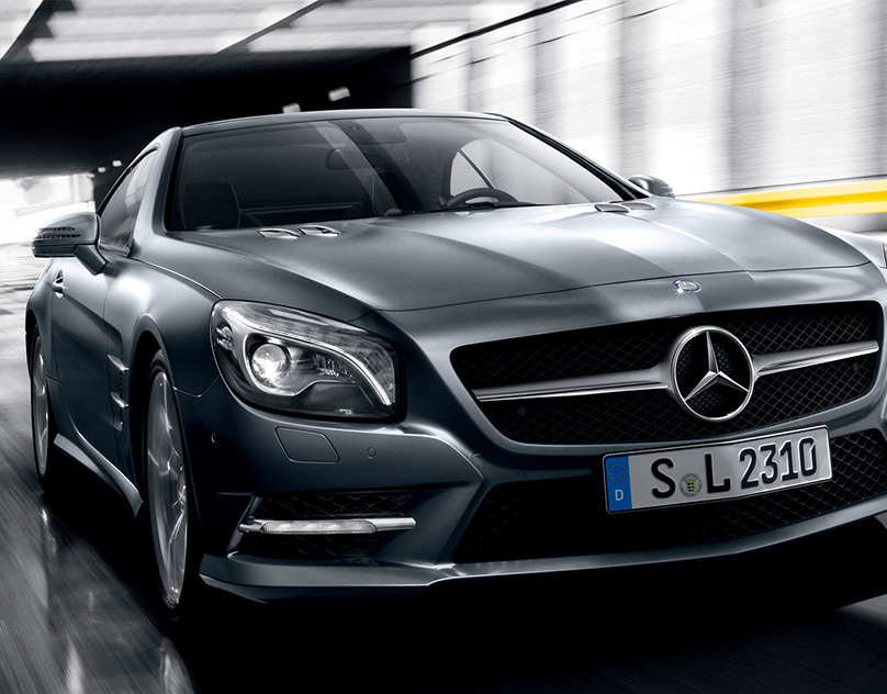 Mercedes Benz- The SL Sting