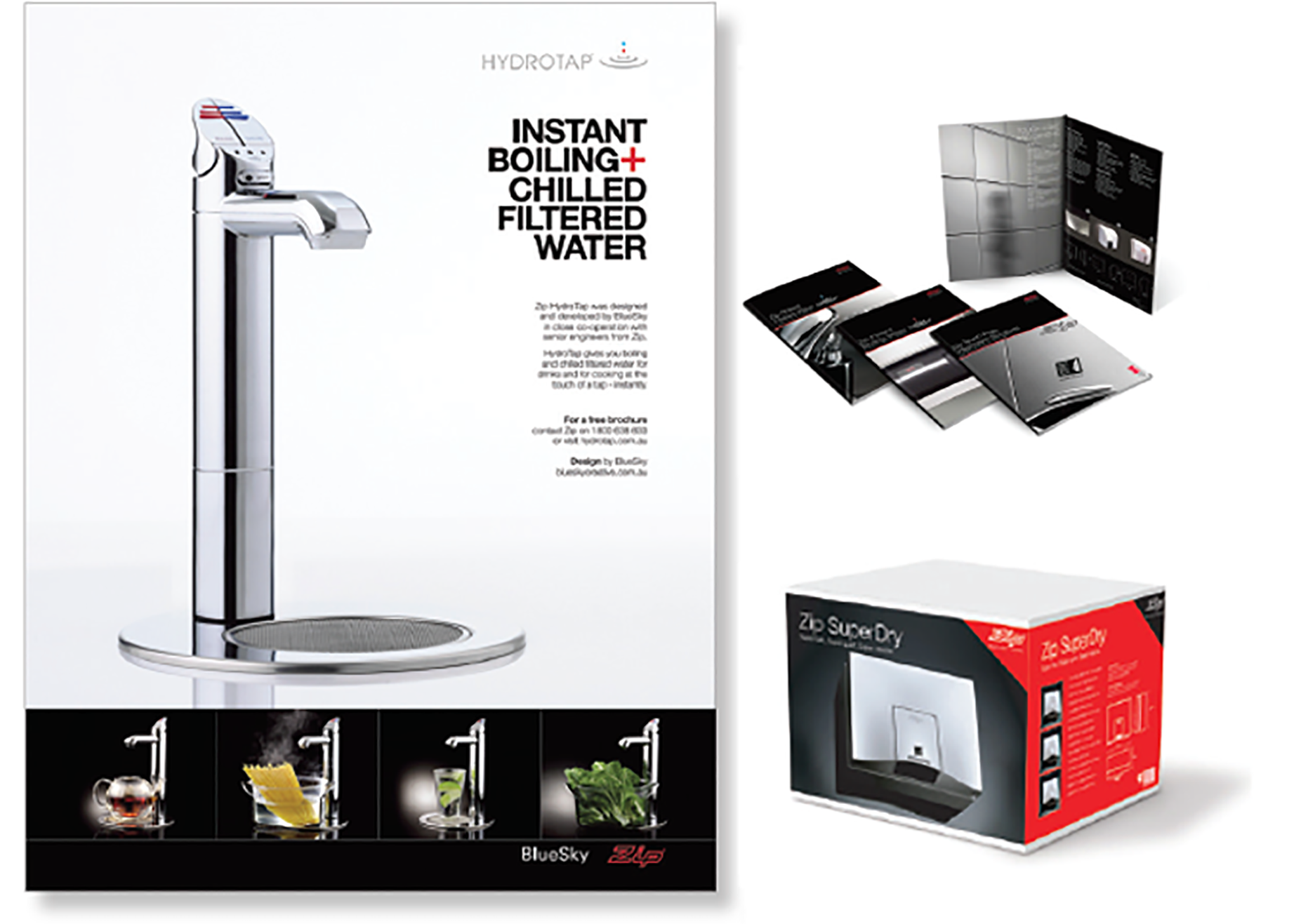 Zip Industries - Print Collateral Designs + Fit-out