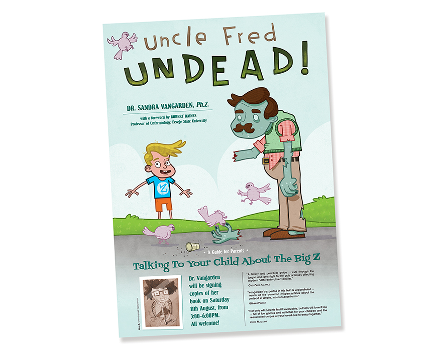 Uncle Fred, Undead!