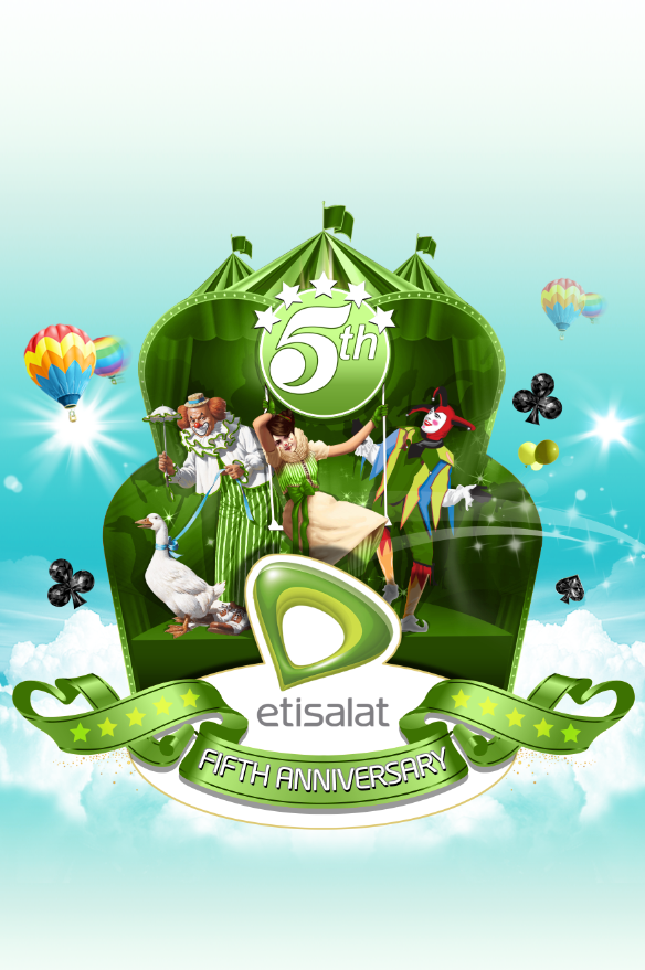 Etisalat fifth Anniversary event