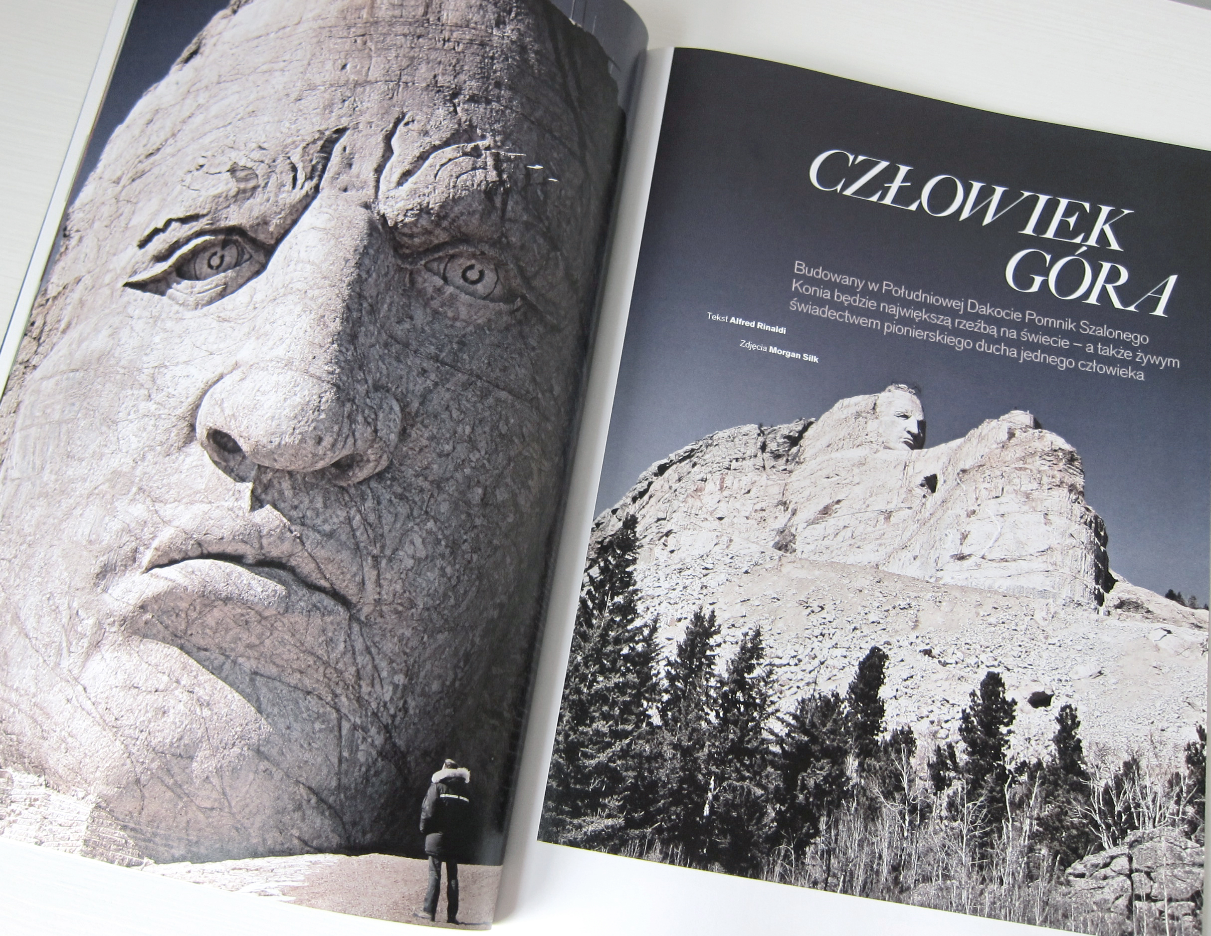 LIV Magazine: Crazy Horse Memorial