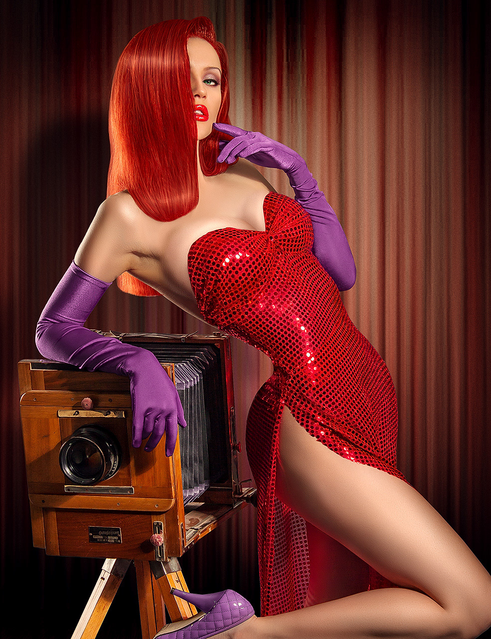 Jessica Rabbit (Before/After) 3 photos
