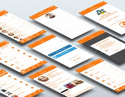 UI/UX iPhone App
