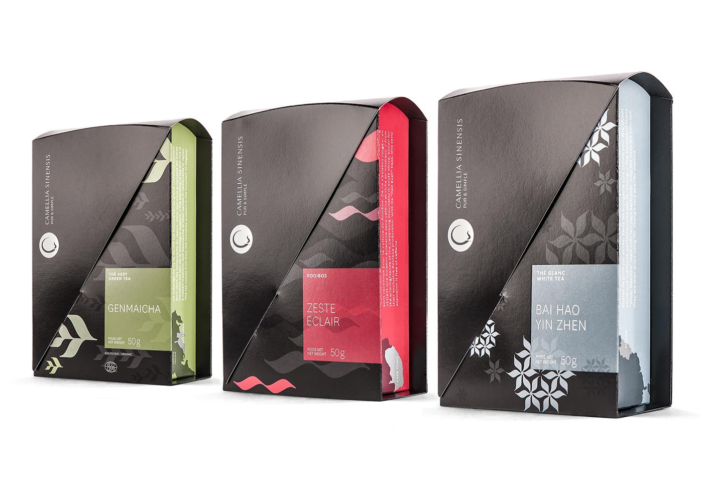 Camellia Sinensis - Packagings