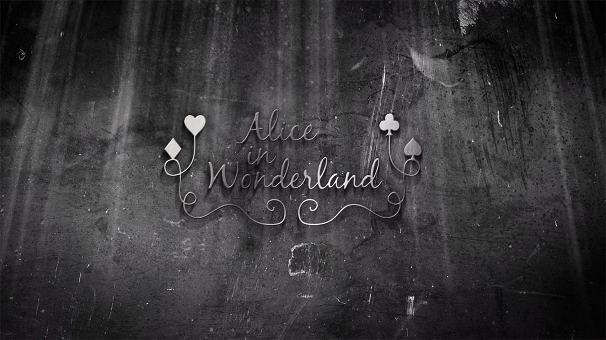 Alice in Wonderland - Title Sequence