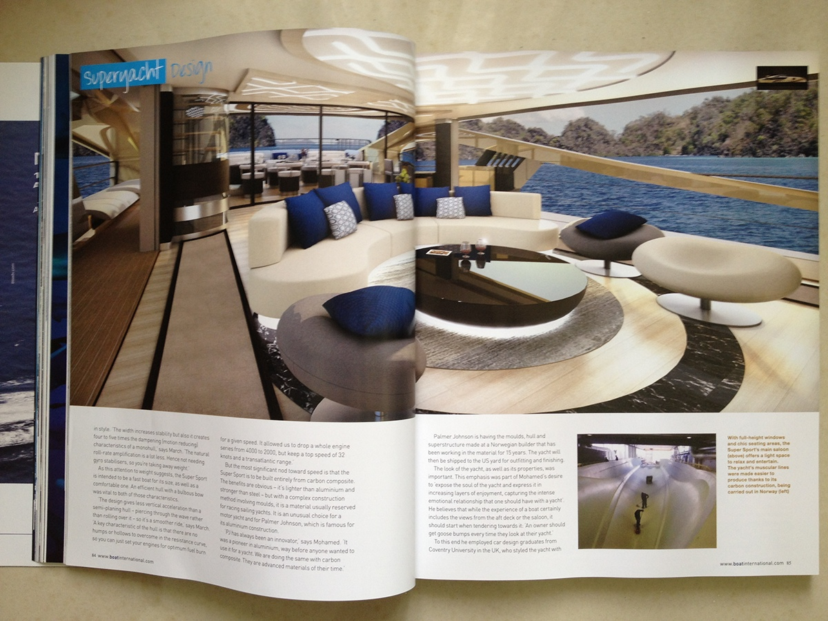 Publication - Boat International (Oct, 2012)