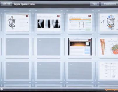 Non-linear Presentation App