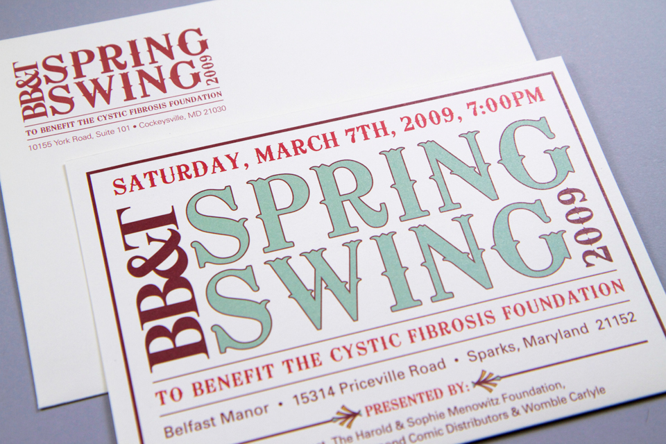 Spring Swing Invitation: Western Theme