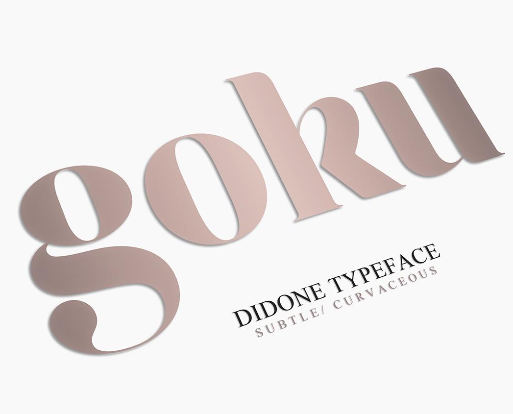 Gokú | Font