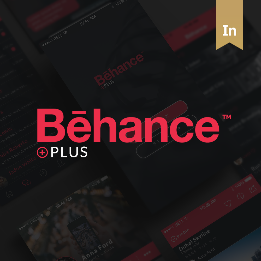 Behance Plus iPhone App