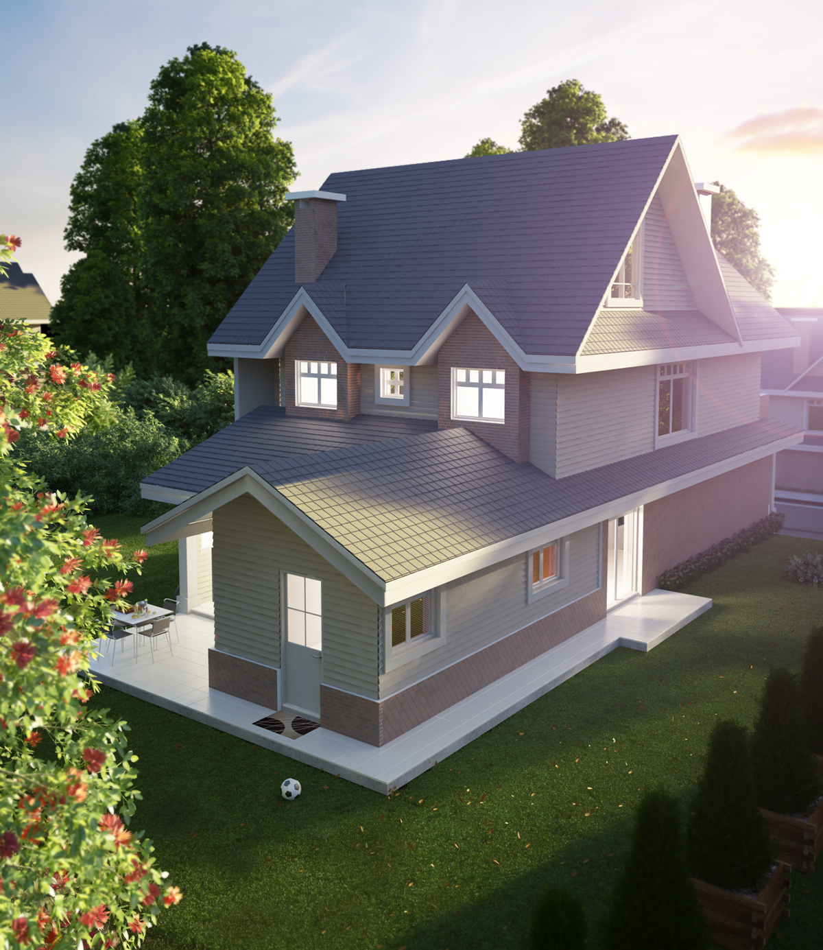 House Exterior Visualization