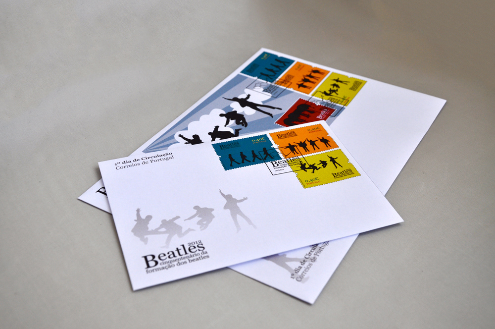 Emissão Filatélica / The Beatles Stamp Collection