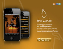 Tour Lanka (iPhone App & Website)