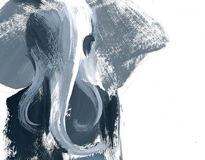 Fashion illustrations for Thom Browne F/W 2014