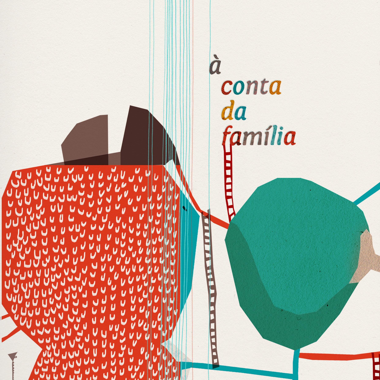 livro À conta da família  [On Account of Family]