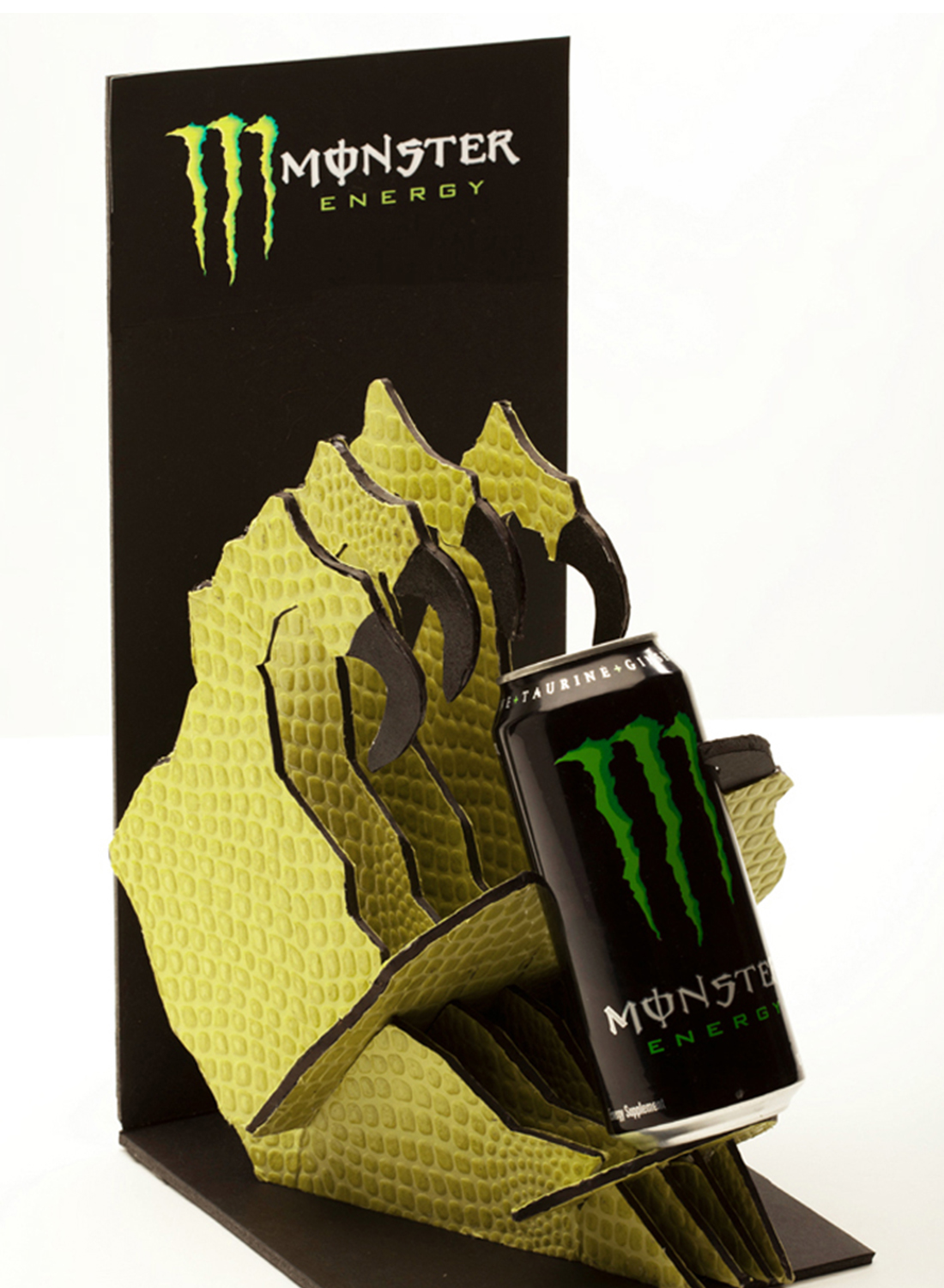 Monster Energy Assault Ads & POP Display