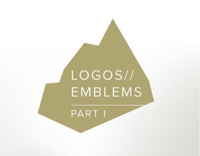 Logos & Emblems - Part I