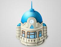 Icon set for TBC Bank facebook fun page