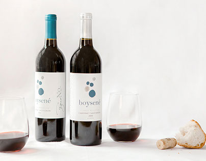 Boysené Wine | Branding & Package Design